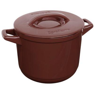Cacarola-Alta-Ceraflame-Duo-7-Litros-Chocolate