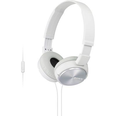 Fone-de-Ouvido-Estereo-com-Microfone-Sony-MDR-ZX310AP-Branco
