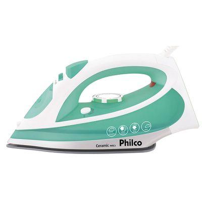 Ferro-de-Passar-a-Vapor-Philco-PFEC1-Ceramic-127V-Verde-Branco-971932