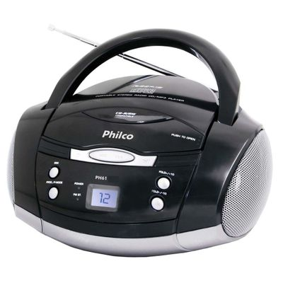 RADIO-PHILCO-FM-CD-MP3-PH61-PT-1132345