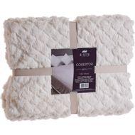 Cobertor-King-Size-Di-Fatto-Dupla-Face-Creme-1579790