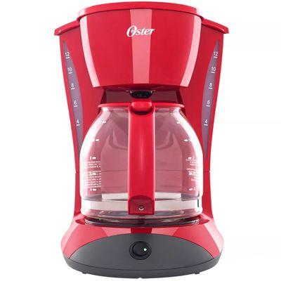 Cafeteira-Oster-Cuisine-12-Xicaras-127V-Vermelha