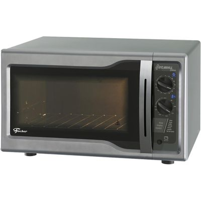 Forno-Eletrico-Fischer-44-Litros-Hot-Grill-com-Timer-Prata-127V