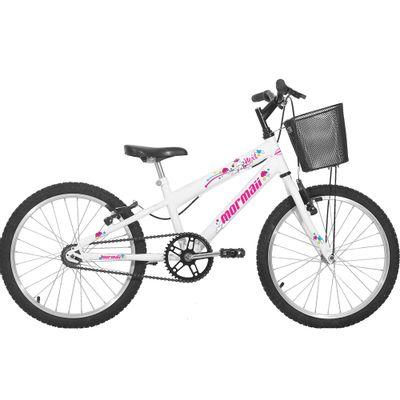 Bicicleta Mormaii Next Aro 20, Branca - Shopfato 4341f72fe5