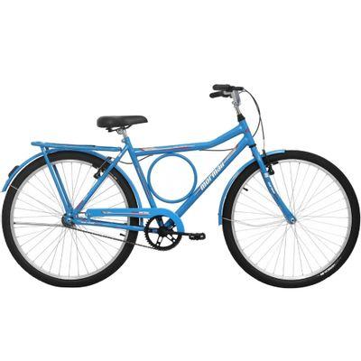 Bicicleta Mormaii Valente Vb Aro 26 Rígida 1 Marcha - Azul