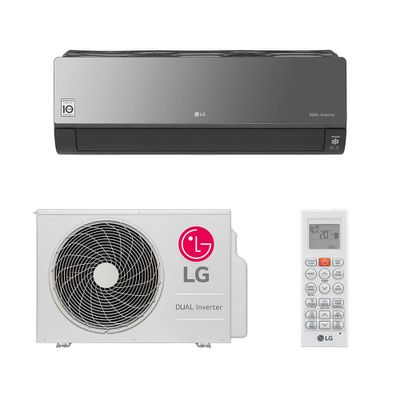 dfc2722ab Ar Condicionado Split HW LG Dual Inverter Artcool 22.000 BTUs Quente Frio  220V