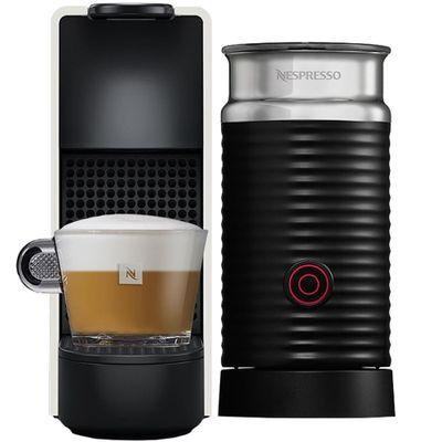 Cafeteira Expresso Nespresso Essenza Mini & Aeroccino Branco 110v - A3nc30brwhne