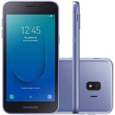 "Smartphone Samsung Galaxy J2 Core SM-J260MZ Quad Core 1.4GHz 16GB Câmera 8MP Tela 5.0"", Prata"