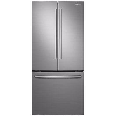 Geladeira/refrigerador 547 Litros 3 Portas Inox French Door Ibaci - Samsung - 110v - Rf220fctas8/az