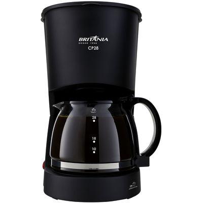 Cafeteira Elétrica Britania Preto 220v - Cp28