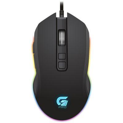 Mouse Usb Óptico Led 4800 Dpis Gamer Pro M3 Preto 64384 Fortrek