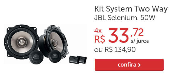 Kit System Two Way JBL Selenium