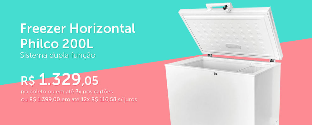 Freezer Horizontal Philco