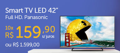 Smart TV LED 42 Panasonic