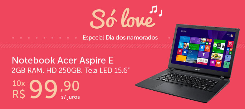 Notebook Acer Aspire E
